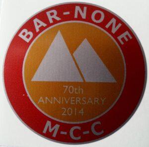 70th Anniversary Badge