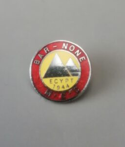 Lapel Badge 1960's Walsh Collection