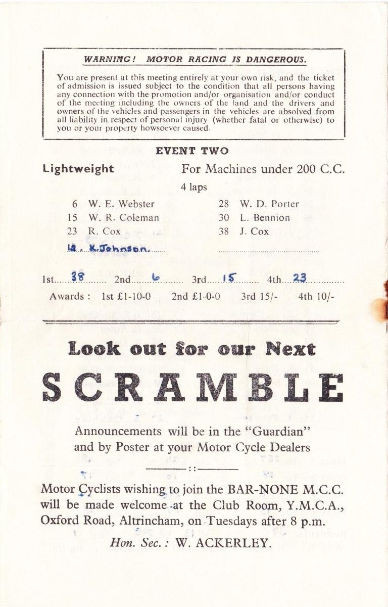 July Scramble page 4