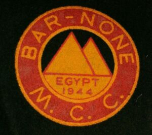 Cloth Patch 1960's original price 5/-