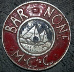 Lance Bombardier Eric V Hookes Badge